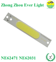 LED Encapsulation 4V 5w chip on board led drive with solar panel battery with various shapes