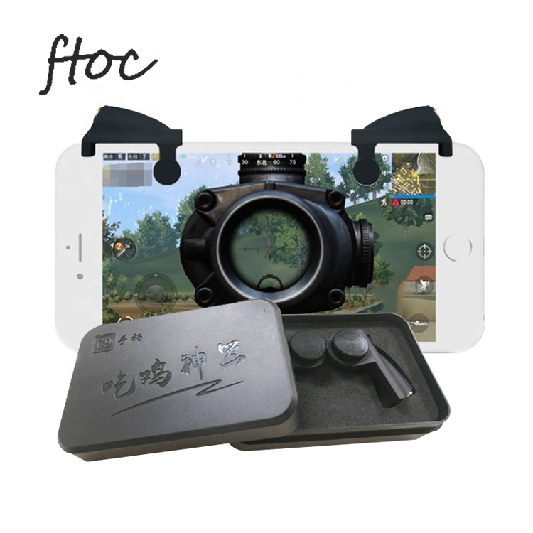 Factory New Model Mobile L1r1 Phone Gaming Trigger Gamepad <strong>Controller</strong> L1 R1 Shooter PUBG For 12mm Mobile Thickness