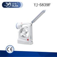yajia yj-5839F 1W+36LED rechargeable FAN Light