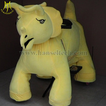 Hansel Cheap Plush Riding Motorized Animals Tube Charger For Animal Zippy Park Rides