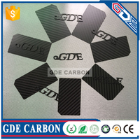 Carbon fiber sheet cnc cutting 1.25mm micor light for quto parts