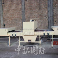 CE ISO high quality colored Zhongtuo stone coated metal roof tile production line china manufacturer
