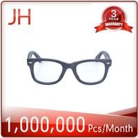 High quality strong custom resin optical lens wooden reading glasses frame from China supplier
