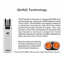 new technology product in china Yocan Pandon Quad Wax Pen Kit for Best Price vaporizer