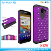 Diamond Stars Bling Bling Phone Case For Alcatel A3,For Alcatel One Touch A3 PC Silicone Cover