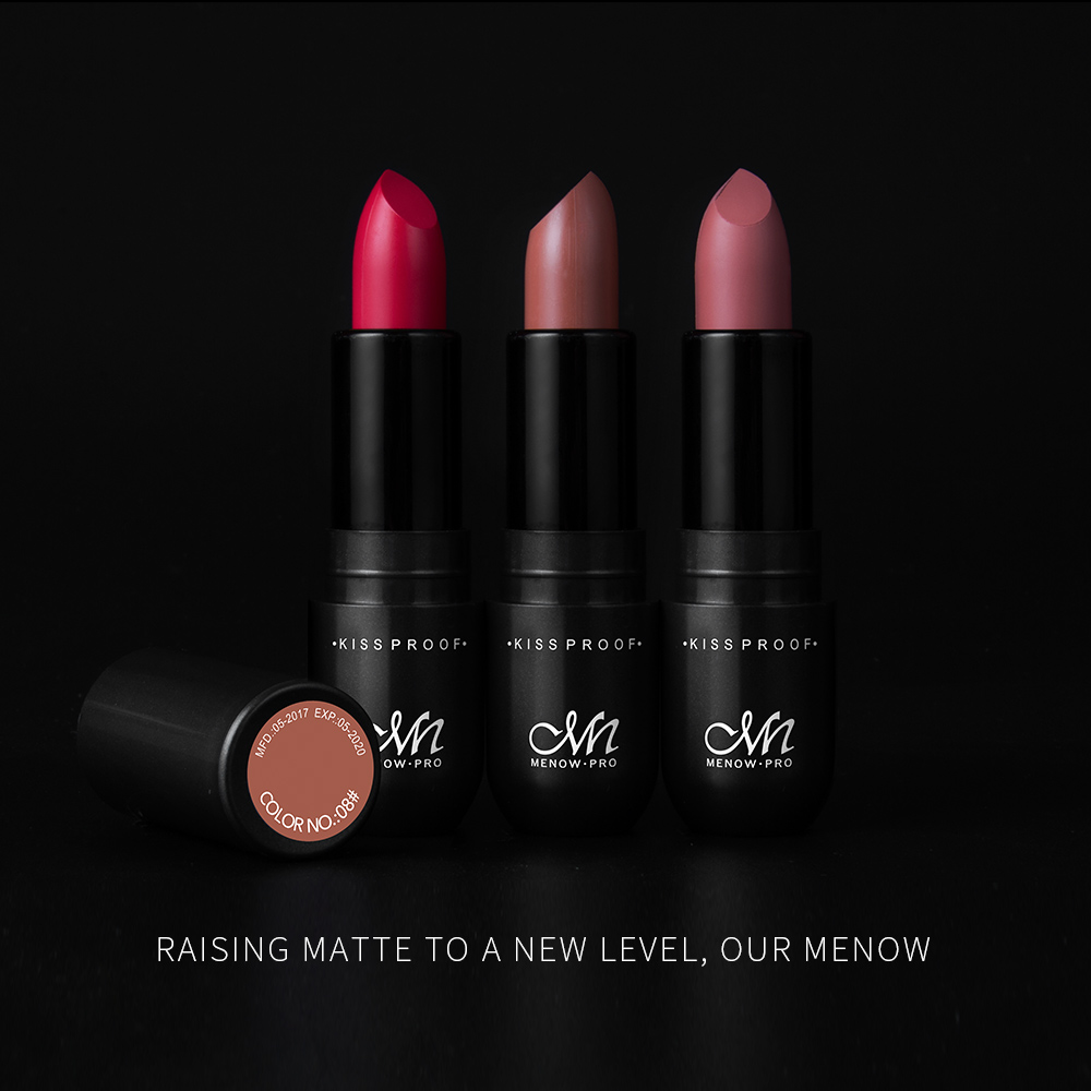Menow Cosmetics L502 Kissproof 24 Hours Long Lasting Matte Lipstick