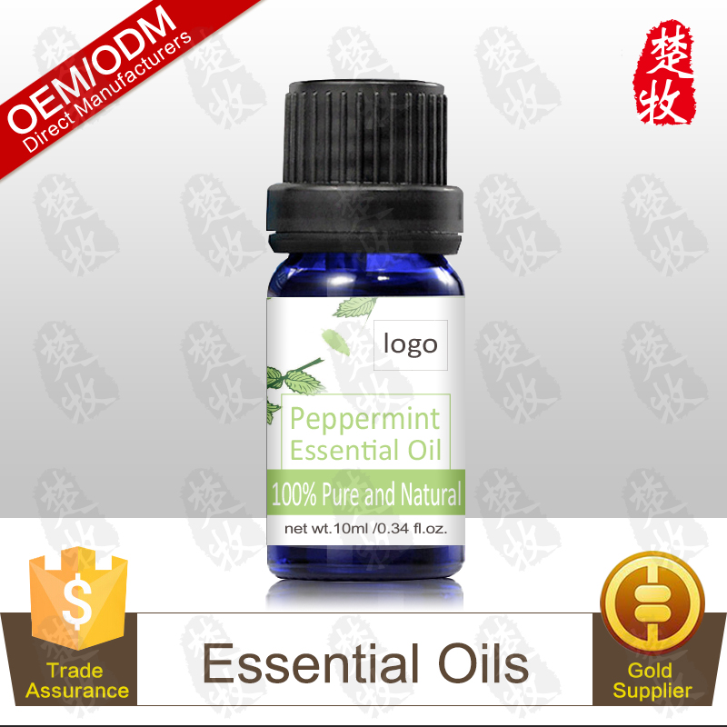 100% Pure and Organic Peppermint Essential Oil 10ml Therapeutic Grade Aromatherapy Product Private Label