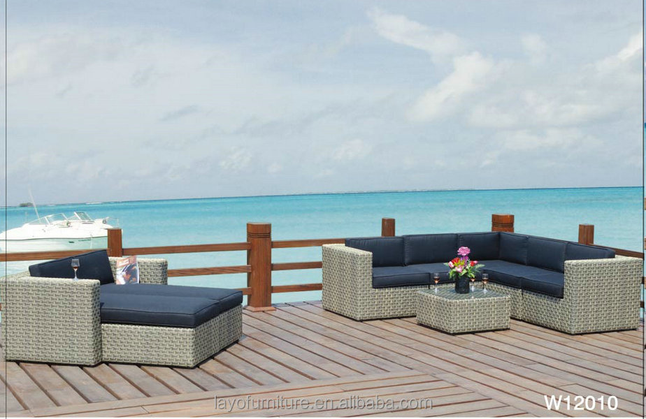 8pcs rattan sofa sets outdoor rattan dining table chairs outdoor rattan funiture