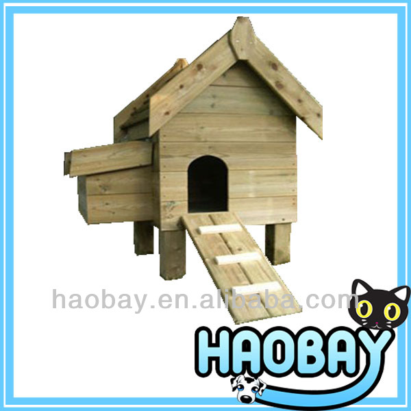 Hot Selling Fir Wooden Pet Furniture Chicken House