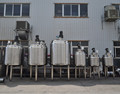 steam heating mixing tank with agitator