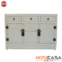 Reproduction Nordcasa Wooden Cabinet Shabby chic vintage antique furniture