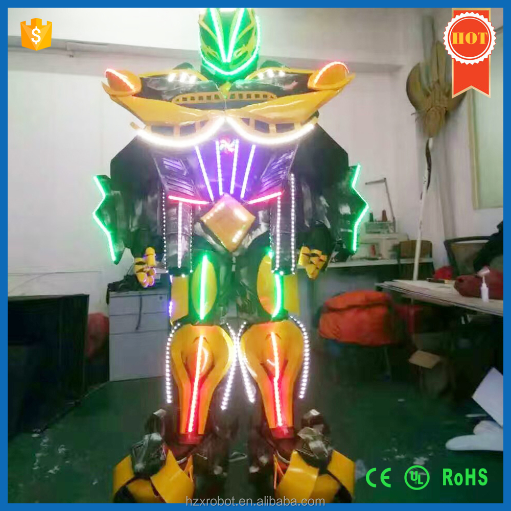 Hot Sale LED Robot Costume for Performance