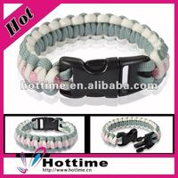 different types of paracord bracelets