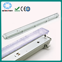China manufacturer T8 ip65 weather proof light fitting hot sale 2013