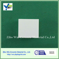 wear resistant Alumina ceramic sheet length 50mm with thickness 20mm