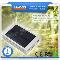 Fashionable Style Solar Charger Powerbank / 20000mAh solar wireless mobile phone charger