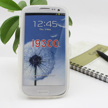 New 2013 TPU material can be transparent flip cover cell phone case for samsung galaxy s3 i9300