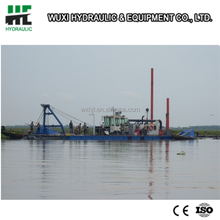 New cutter machinery cutter headed suction dredger