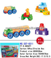 2013 New Toys Building Block Car Type Bricks Funny Educational Toys