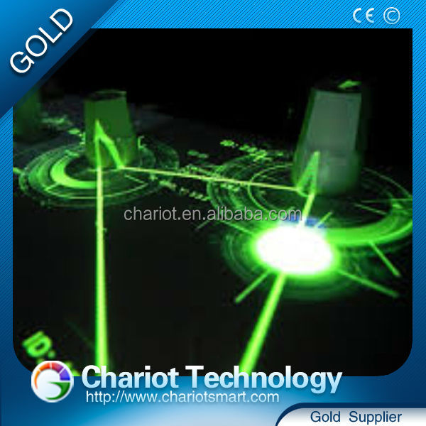 Chariot Hot product glass interactive table bar NEW