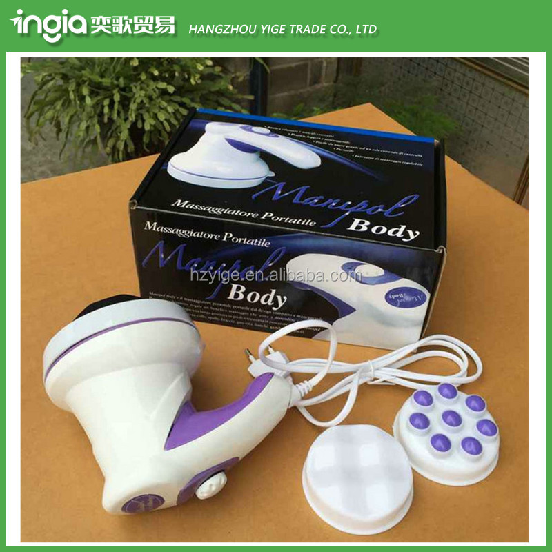 ABS Body Heat Massager Vibrator Plate Electric Body Massager
