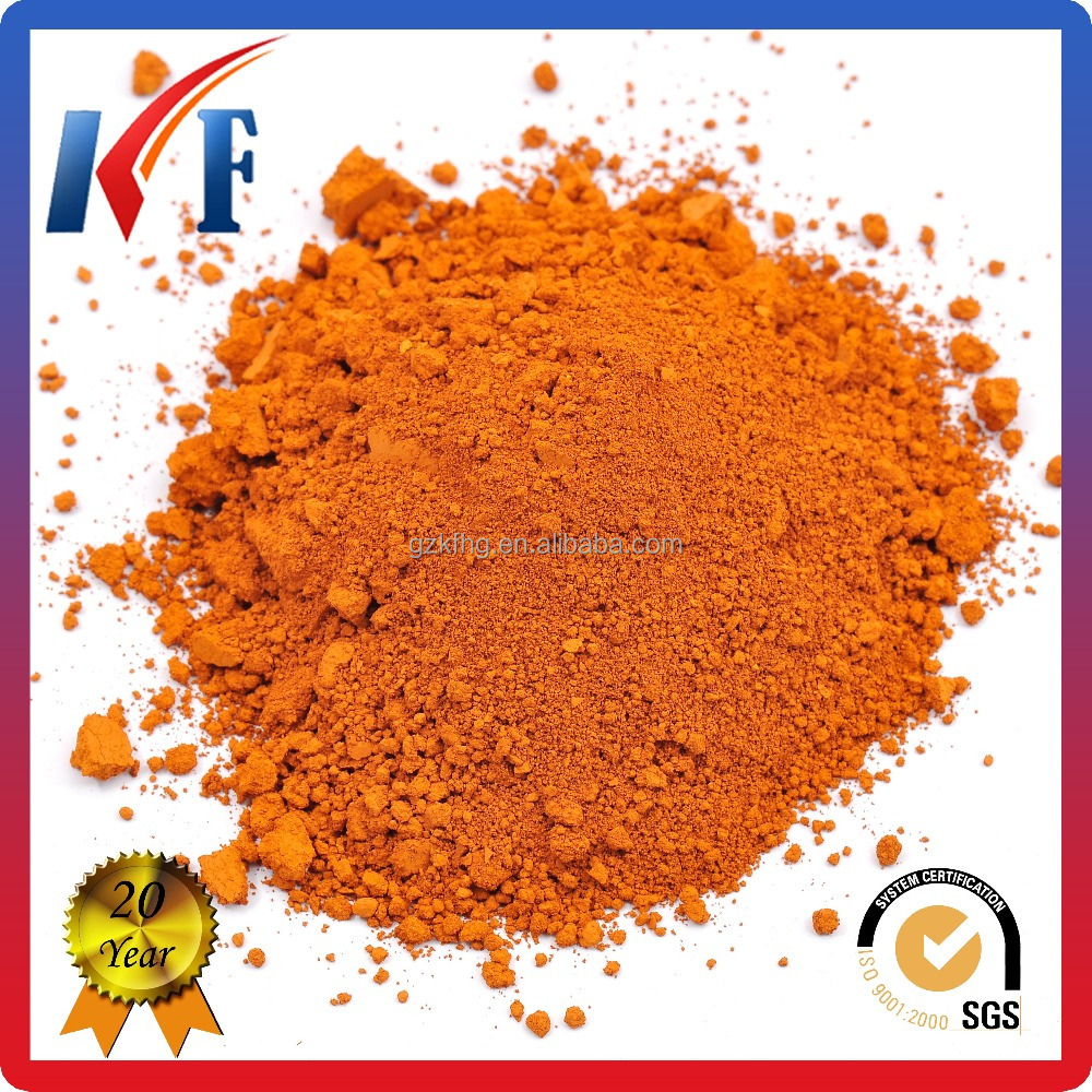 High Purity Iron Oxide Orange 960 for Bitumen Inorganic Pigment