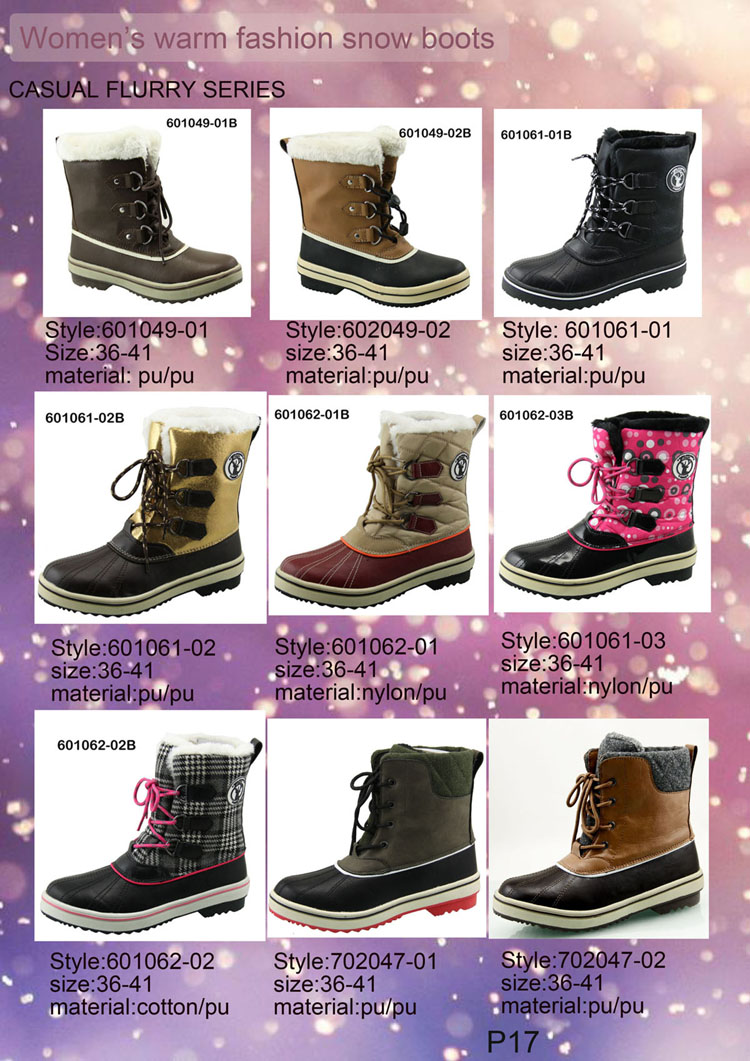 Fashion and warm snow boots colorful printing ankle boots classic trendy furry boots for ladies