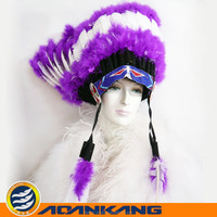 hot sale feather headress from China M-9030