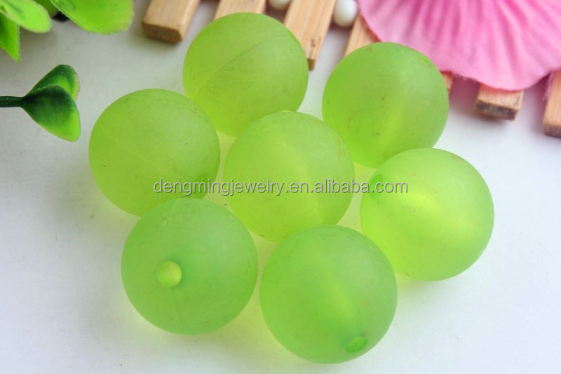 Bulk Large 20mm Round Crystal colorful acrylic transparent bubblegum ball loose chunky beads for jewelry making for kids!