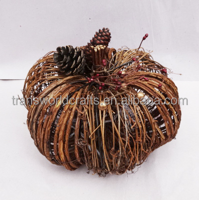New arrival artificial pumpkin for home and Holiday decoration 2016 Fashion new design