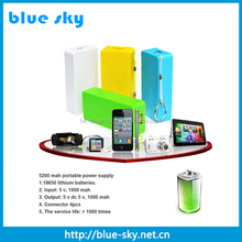 Promotional gift 6000mah power bank for blackberry q10, mini keychain smart power bank