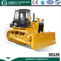 China bulldozer top brand Shantui machinery 130HP SD13S earth moving bulldozer for sale