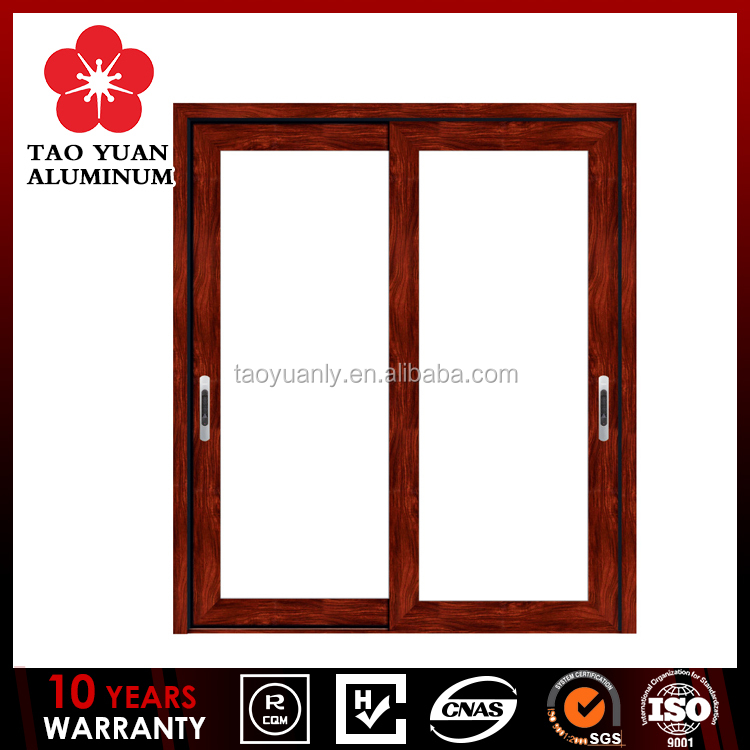 Aluminum profile door and window sliding type aluminum profiles High quality glass window frame
