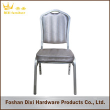 Stacking cheap red metal aluminium hotel price steel dining banquet chair