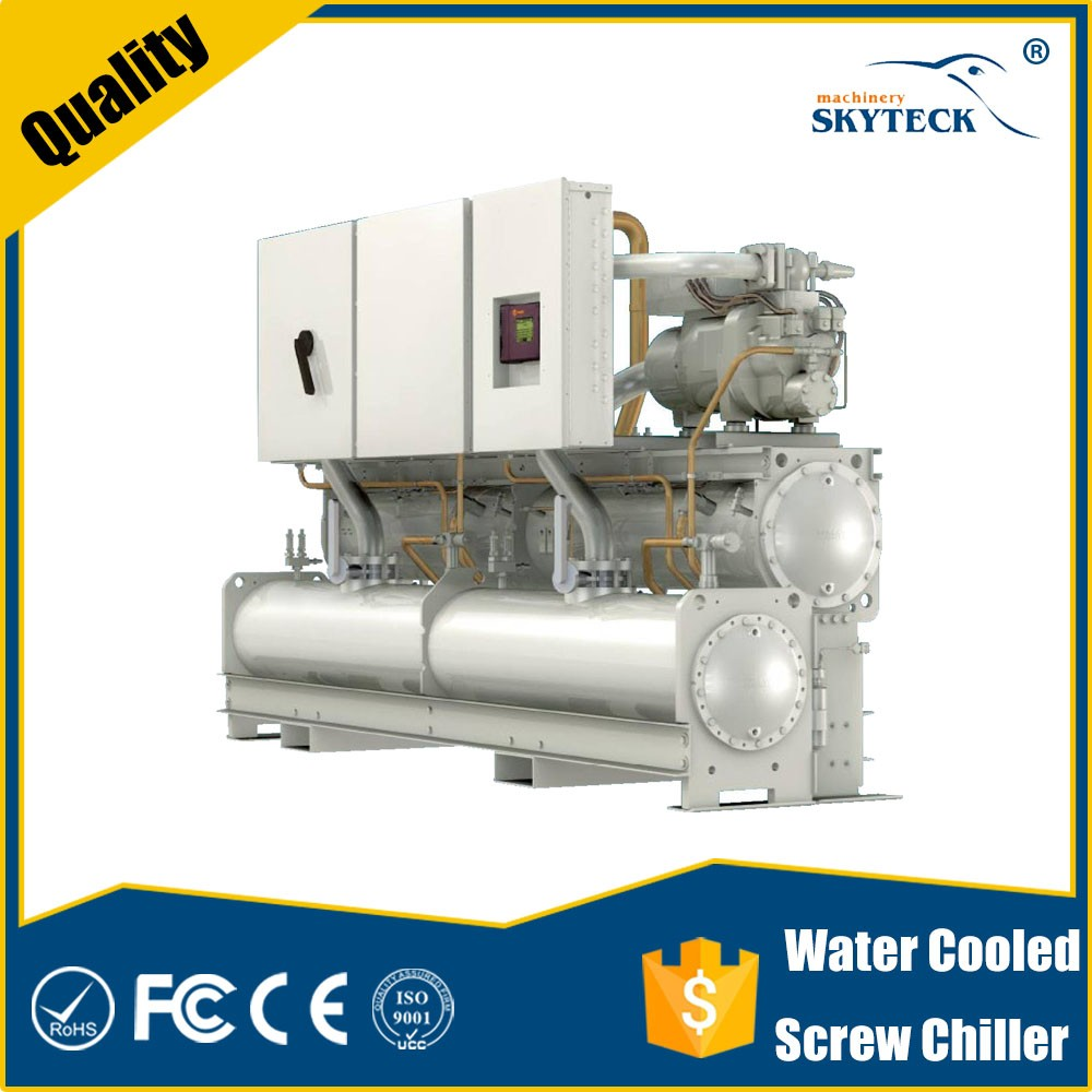Automatic pet blow molding machine / blower machine hot water absorption chiller