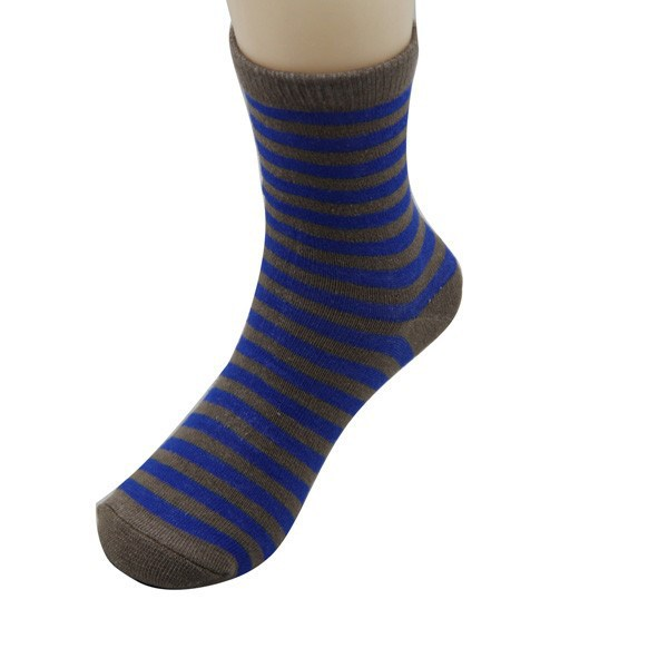 GSC-22 Bulk Wholesale Make To Order Fshion Striped Cotton Kids Children Socks