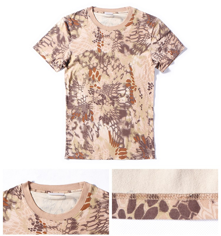 army short sleeve cotton personalized camo t shirts