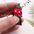 Custom made keychain darth vader red led super heroes keychain