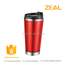 Zeal easy drink Eco friendly travel coffee mug wholesale