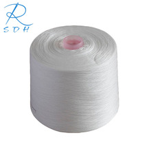 1.25kg/cone recycled spun polyester plastic bobbin yarn