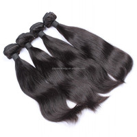 natural color natural straight 7A+grade hair product, supply peruvian hair weaving