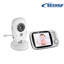Bessky Night vision wireless baby monitor camera / video baby monitor baby temperature monitor