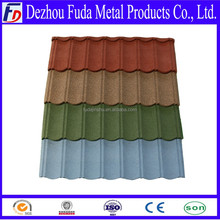 stone chips coated metal roof tile, roofing sheet, roof tile