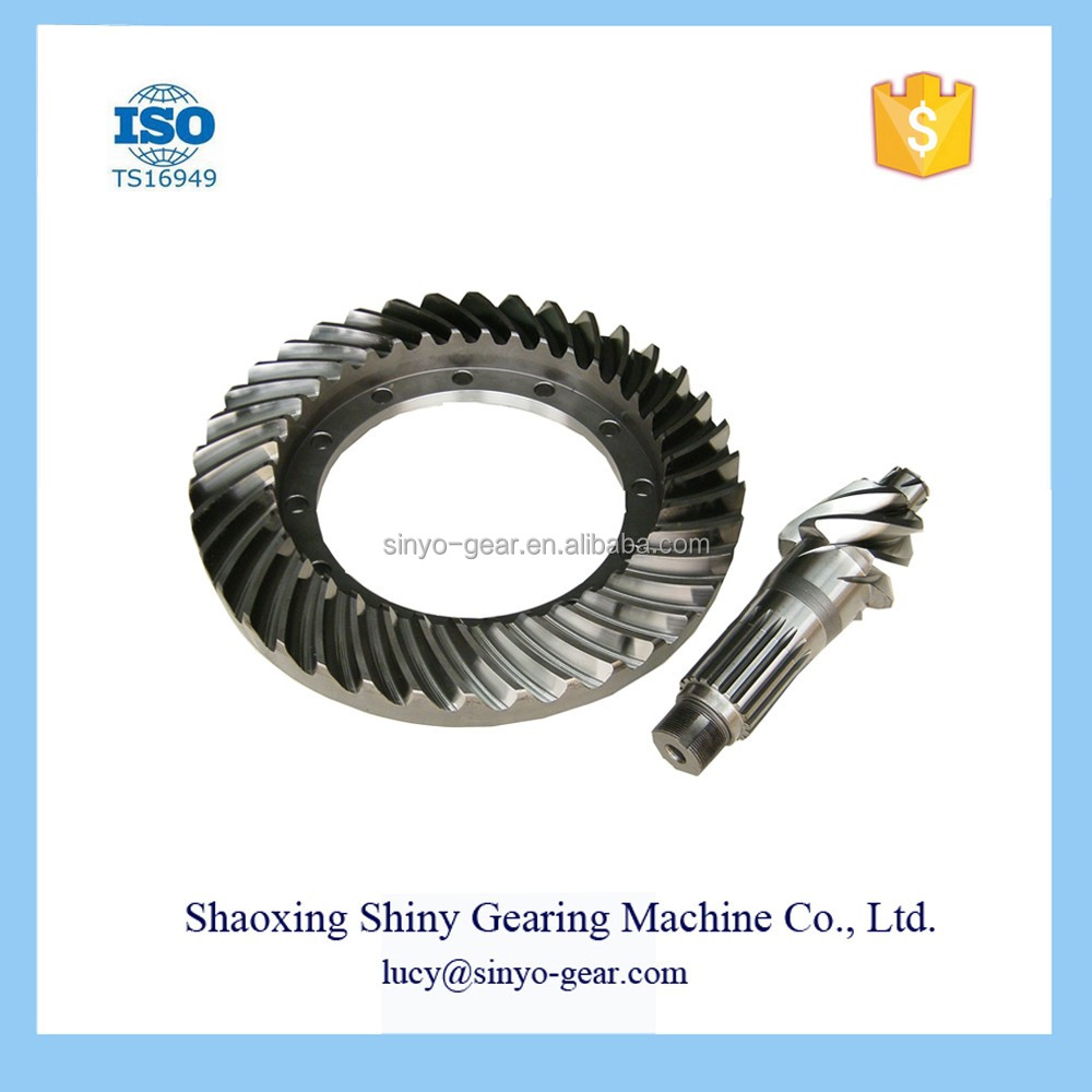 Auto parts bevel gear machine