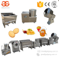 2017 Semi Automatic Finger Chips Potato Chips Making Machine Small Scale French Fries Production Line