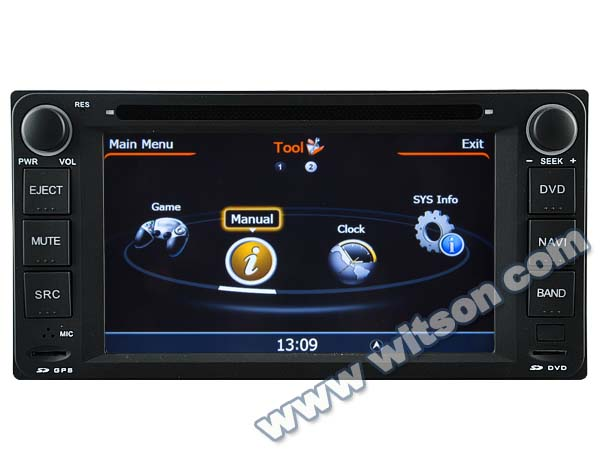 WITSON video interface for TOYOTA COROLLA