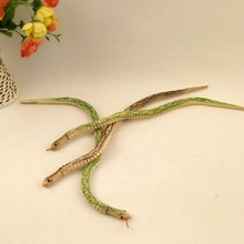 Yiwu cheap decorate home wooden carved snake