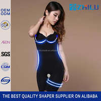 Top grade top quality natural bamboo charcoal slimming suit