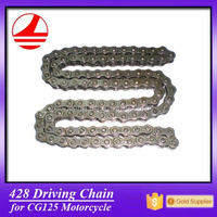 China quality motorcycle spare 428 chain atv transmission parts