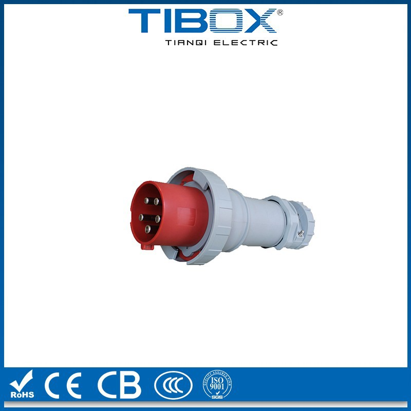 IEC 250 amp industrial plug TIBOX IP67 4Pin waterproof 250 amp industrial plug